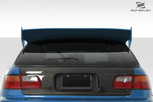 92 95 Honda Civic Hb Duraflex Rbs Wing Spoiler 3 Pc 114272