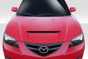 For 04 08 Mazda 3 4dr M Speed Hood 114579