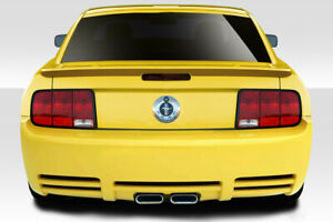 05 09 Ford Mustang Duraflex Colt Rear Bumper Cover 1 Pc 114847