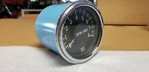 Stewart Warner 997r Tachometer For Hot Rat Street Rod Trog Scta