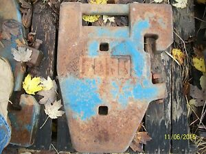 Ford Front End Weight 8000 9000 Tw10 Tw20