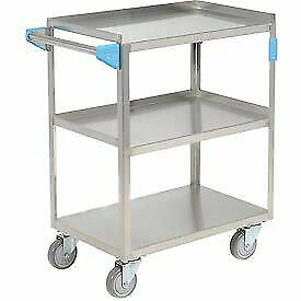 Carlisle Uc3031524 Stainless Steel Utility Transportation Cart 300 Lb Capacity