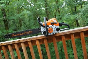 Piltz Stihl Ms180 Hot Saw 20 Inch Cannon Bar And Stihl Chain Perfect Chainsaw