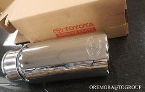 2012 2018 Tundra Chrome Exhaust Tip Pt932 34160 Genuine Oem