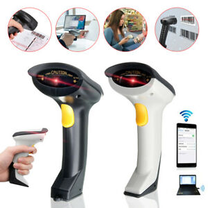 2 4ghz Wireless Laser Usb Automatic Barcode Scanner Handheld Code Reader Pos Us