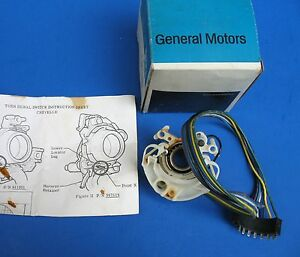 Nos Directional Turn Signal Switch Guide Gm 911051 Chevelle Malibu El Camino