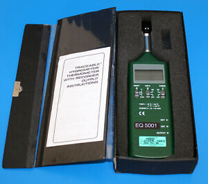 Vwr Traceable Humidity temperature Meter Hand held 89140 174 10 0 To 95 0 Rh