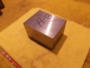 H 13 Tool Steel Bar Machine Tool Die Shop H13 Flat Stock 2 1 2 X 4 X 3 Ground