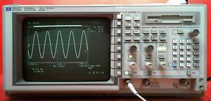 Hp Agilent 54520a 001 Digital Oscilloscope 500mhz 2 channels Sn Us36060430