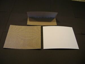 White Corrugated Coin Mailers 6 Size pack Of 500 Free Shipping