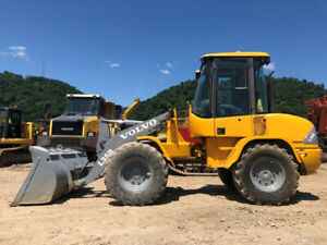 Volvo L35b Articulated Wheel Loader Cab Diesel Rubber Tire Artic Tractor