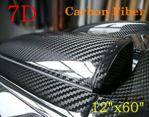 7d Waterproof Carbon Fiber Vinyl Car Wrap Sheet Roll Film Sticker Decal Paper