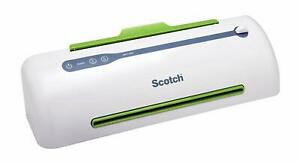 Scotch Pro Thermal Laminator Never Jam Technology Automatically Prevents Misfed