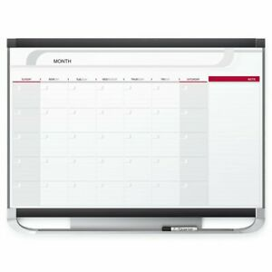Quartet Dry Erase Calendar Board Planner Magnetic Whiteboard 3 X 2 Yearly