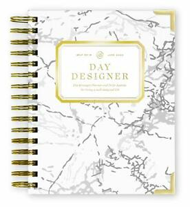 Day Designer 2019 2020 Mini Daily Life Planner And Agenda Hardcover Twin wire