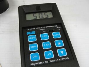 Rochester Instrument System Ris Voltage Calibrator Cl 4003