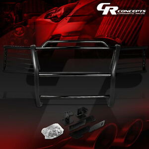Mild Steel Front Bumper Brush Grille Grill Guard For 00 06 Chevy Tahoe Suburban