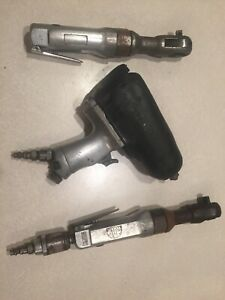 3 Piece Chicago Pneumatic Cp734h 1 2 Air Impact Wrench Mac Tools Ar154