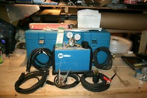 Miller Maxstar 150 Stl Tig stick Welder complete Package With Hard Shell Case