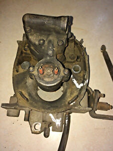 1984 Corvette C4 Left Side Throttle Body With Linkage