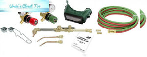 Turbotorch 0386 1325 Model Cst 150c Tote Kit Oxy acetylene Without Tanks