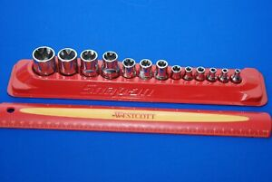 Snap On 13 Piece Torx Shallow Socket Set Combination Drive 213afley Ships Free