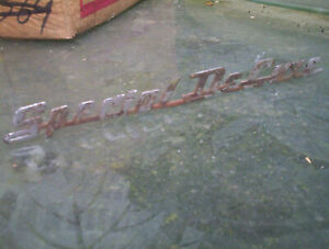 Chevy Special Deluxe Emblem Chevrolet 41 42 43 44 45 46 47 48 49 50 51 52