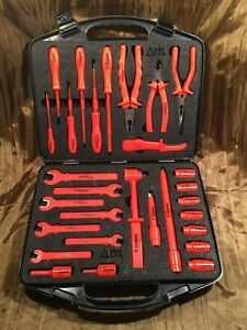 Hanson Electrician 29 Piece Insulated Tool Kit Usc00007 Excellent Condition
