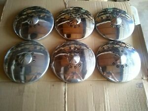 Set Of 6 1949 1950 Ford 10 5 Hubcap Wheelcover Dogdish Poverty Fomoco