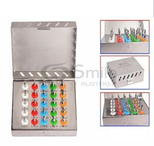 Dental Implant Conical Drills Kit 25 Pcs Set Surgical Dental Instruments New