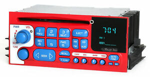 1995 02 Gmc Chevrolet Truck And Van Am Fm Cd Radio Aux Input Red White And Blue