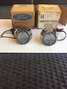 1969 1970 Nos Mustang Shelby Boss Mach Back Up Lights W lenses