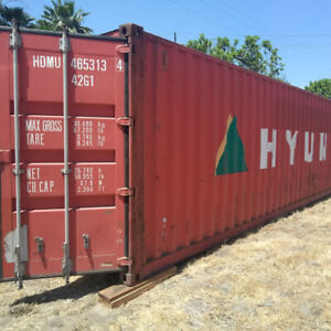 40 High Cube Shipping Container For Sale