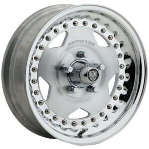 4 centerline Convo Pro 15x7 5x4 5 6mm Polished Wheels Rims 15 Inch
