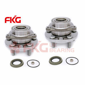 2pc Front Wheel Bearing Hub For 1995 2005 Pontiac Sunfire Chevy Cavalier 513017k