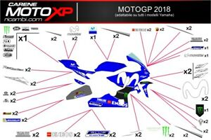 Stickers Decal Moto Compatible Yamaha R1 2015 2019 Mt18