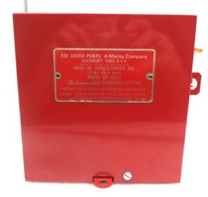 Veeder root Red Jacket Standard Control Box 880 032 To Be Used W model Cp 150s1