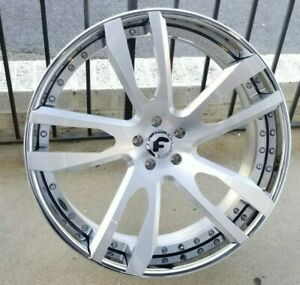 24 Forgiato Bullone Dodge Hell Cat Charger And Challenger Srt 5x115