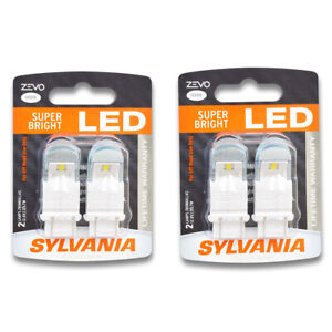 Sylvania Zevo Two 2 Packs 4157led Led Bulb Turn Signal Parking Side Nk