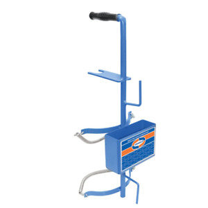 Uniweld 516 Metal Carrying Stand For A 40 Cubic Feet Nitrogen Tank Utility Tray