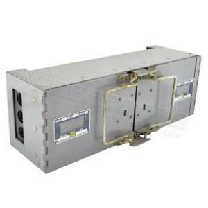 Df 8133 1 Square D 240v 100a Df Switch Panel Mount 3ph 3p Dual Twin Warranty