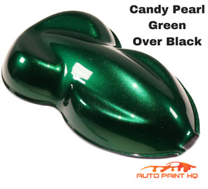 Candy Pearl Green Over Black Basecoat Tri Coat Gallon Car Vehicle Auto Paint Kit