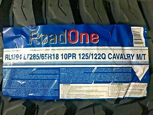 4 Tires Lt 285 65 R18 Roadone Cavalry M T 10ply Tire 2856518 33x11 50 18 Lre Mud