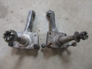 1955 Ford Town Sedan Front Steering Stock Spindle Set Pair Hot Rod Rat Rod Parts
