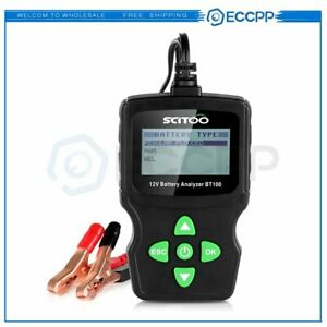 6v 18v Lcd Vehicle Car Digital Battery Test Analyzer Diagnostic Tool Jis Din Iec