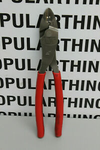 Snap On 29acf Red Terminal Crimping Cutter Pliers Free Shipping
