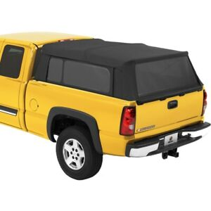 76310 35 Bestop Supertop Fabric Camper Top Silverado Sierra 5 8 Bed 2004 2018
