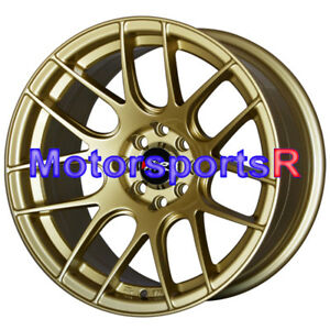 Xxr 530 Gold 15 X 8 25 Concave Rims Wheels Stance 4x100 84 85 86 88 91 Bmw E30