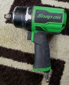 Snap on 1 2 Green Air Impact Wrench Model Pt850g
