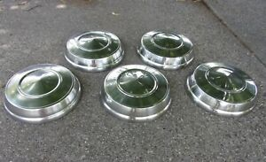 5 Max Wedge Plymouth Dodge Chrysler Dog Dish Hubcaps Mopar 1963 1964 1965